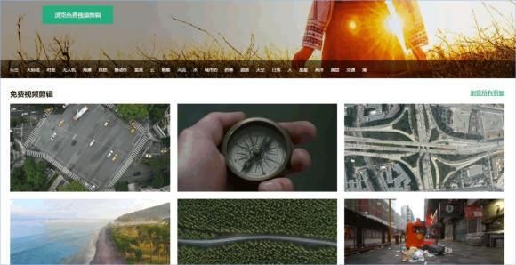 Mazwai 一个内含海量可商用视频素材的网站,画质1080P以上